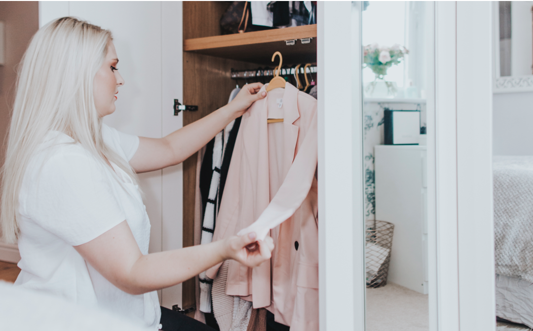Best tips for organising your wardrobe